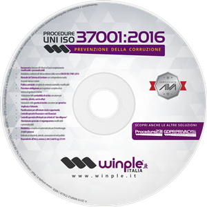 CDROM kit documentale software anticorruzione iso 37001 2016